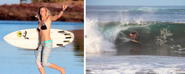 Holly Beck Surf Camp Nicaragua