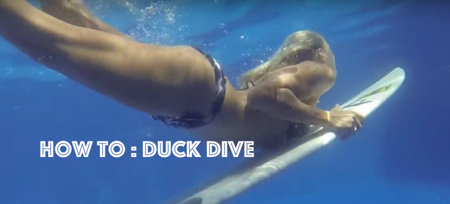 Surf Completely : How To Duck Dive