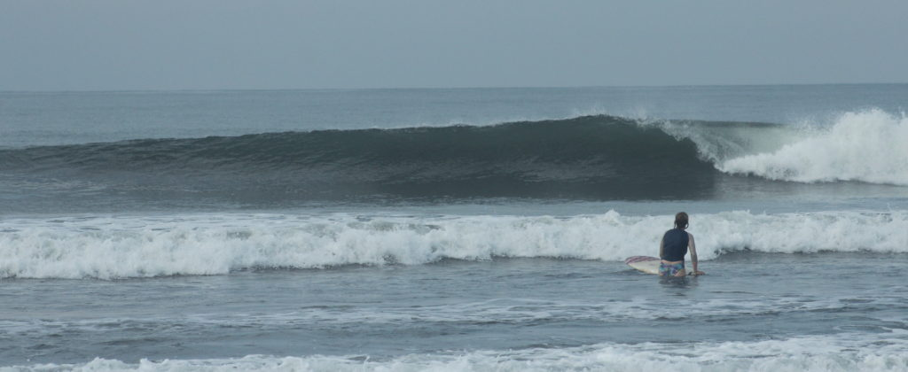 Surf yoga retreat, surf coaching, nicaragua, holly beck, surf camp, womens, uncrowded surf