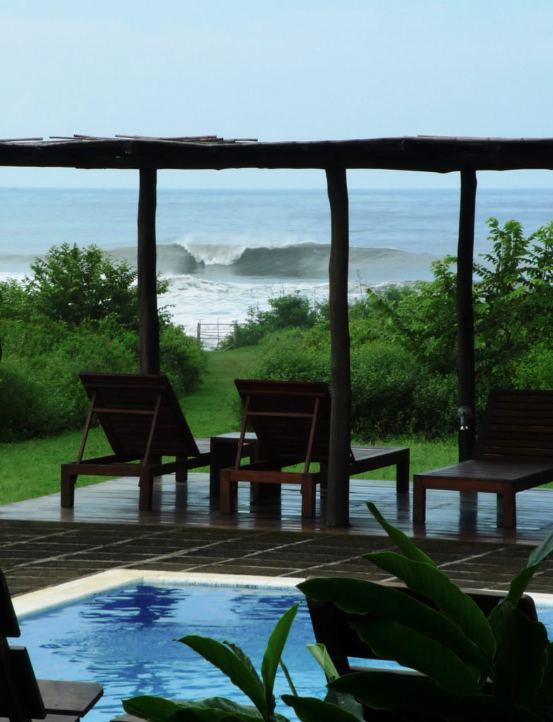 surf camp nicaragua, surf yoga retreat, surf with amigas, new home base, boutique hotel, learn to surf
