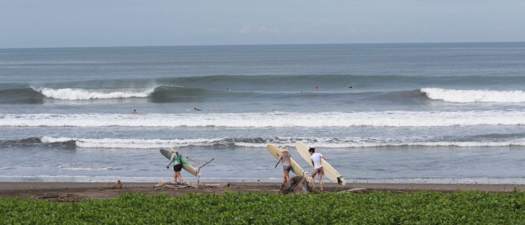 surf camp nicaragua, surf yoga retreat, surf with amigas, new home base, boutique hotel, learn to surf, nahualapa bay