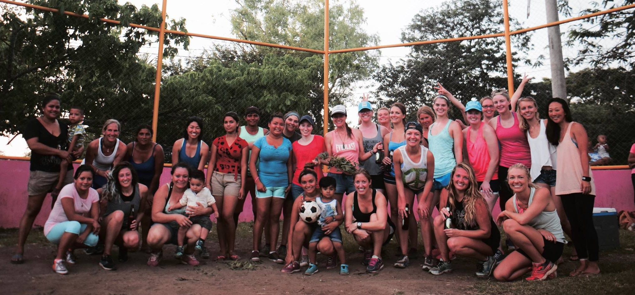 community support, nicaragua, help the locals