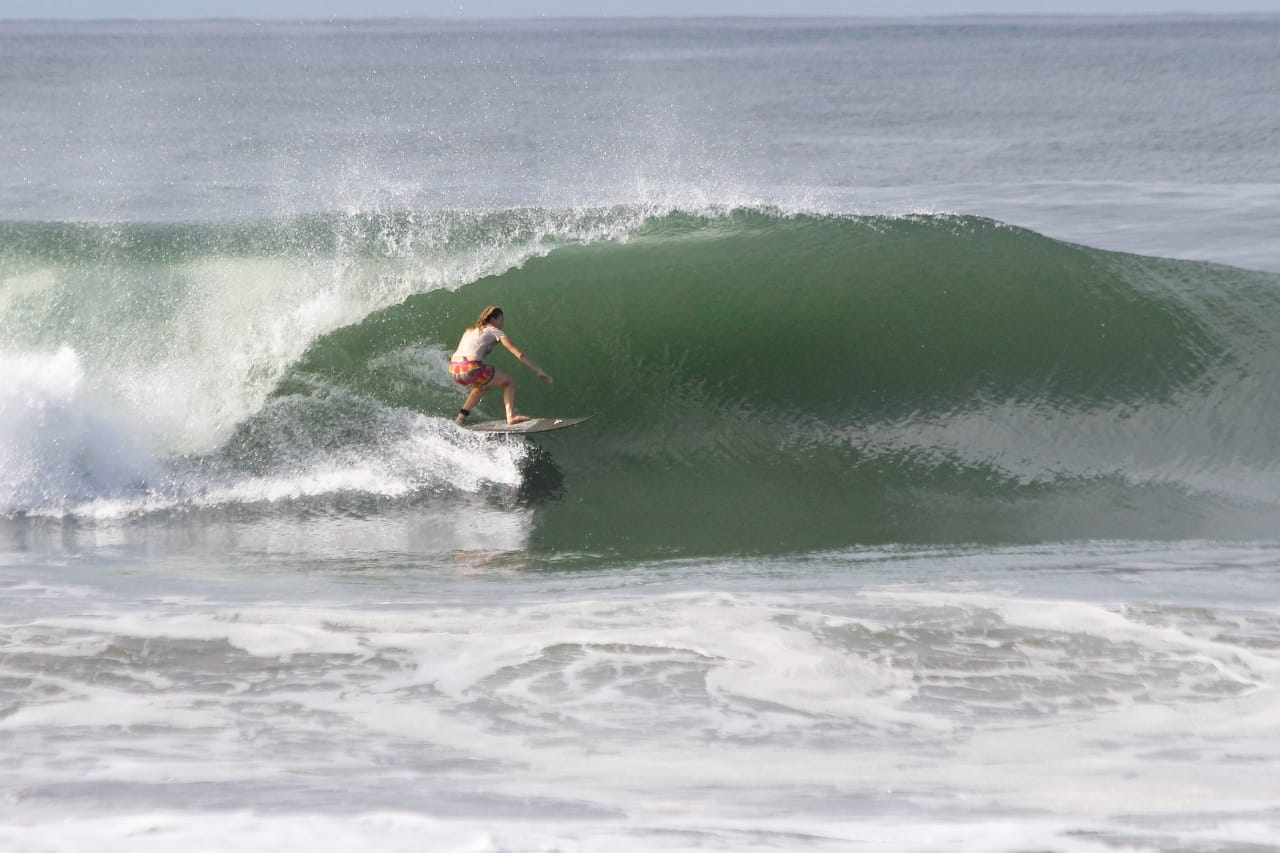 holly beck, surfing, nicaragua, empty waves, safe to travel