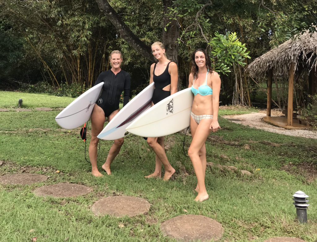 katarina marlett, san diego surfer girls, surf with amigas, advanced shortboard retreat