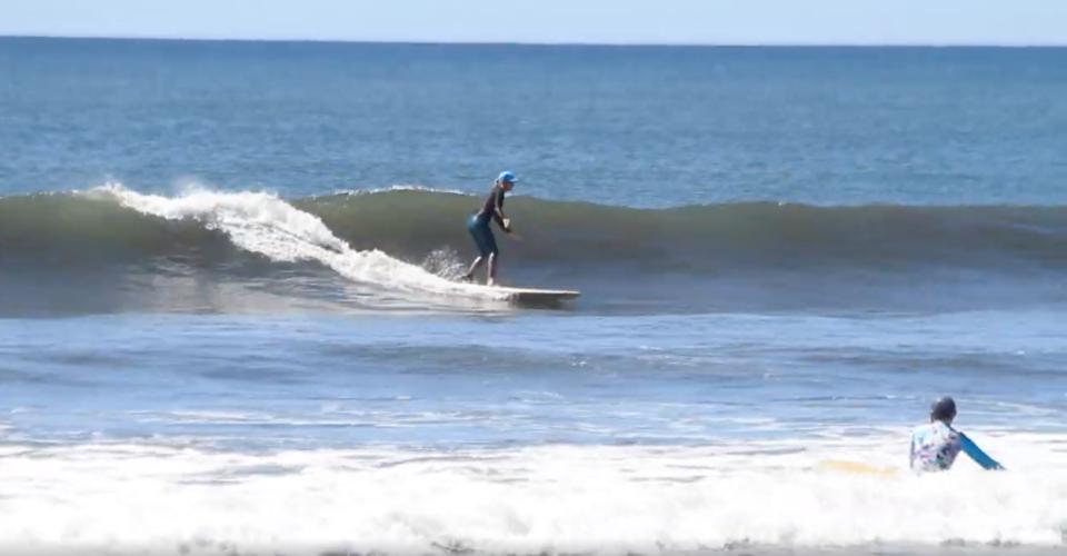 surf with amigas, nicaragua, women surf yoga retreat