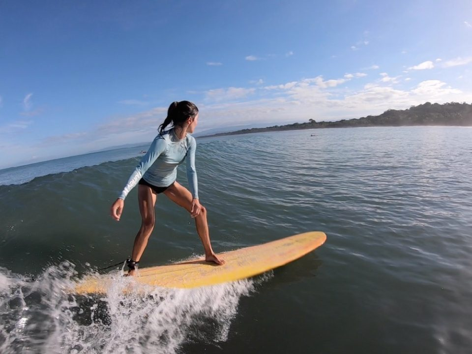 surf with amigas, surf retreat, women, Costa Rica