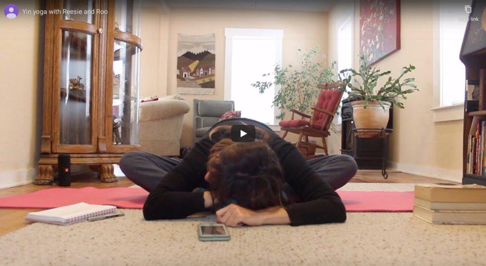 cherise richards, Reesie, yoga, yin yoga, online, surf with amigas, free yoga class