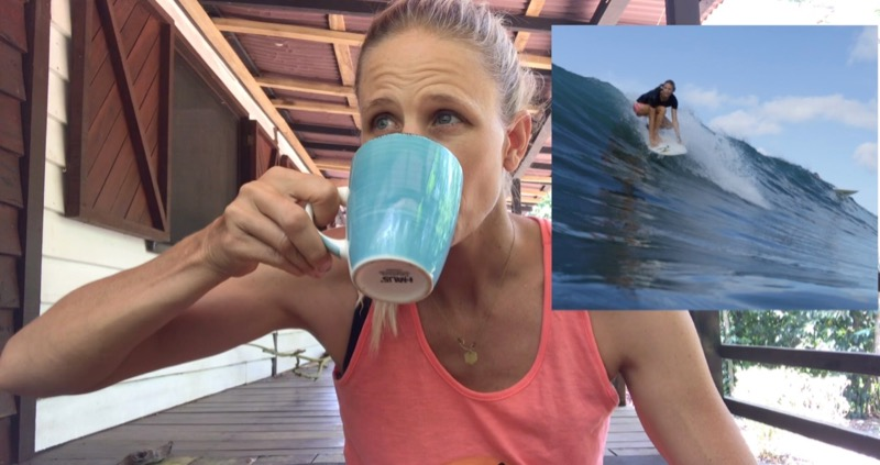 holly beck, surf with amigas, pop up clinic, education, learn to surf