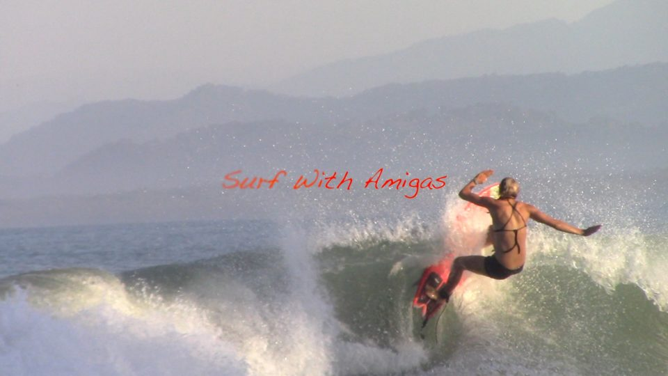 holly beck, surf with amigas, Costa Rica, surfing, women