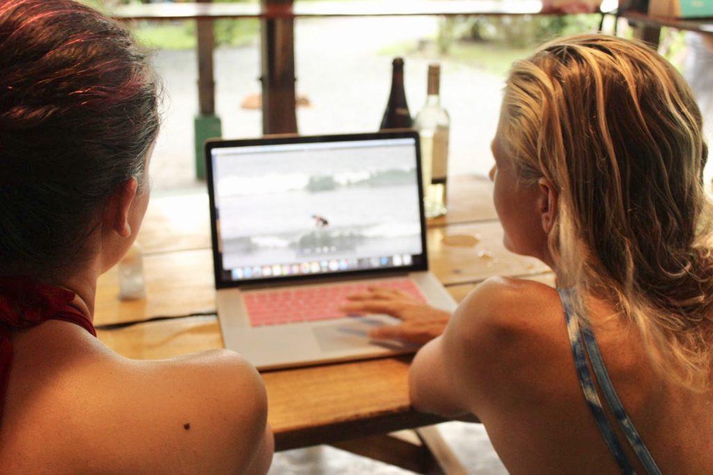 holly beck, video coaching, virtual video coaching, surf coach