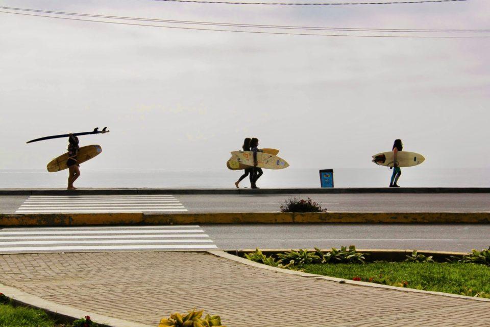 Surf With Amigas Peru